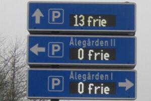 Read more about the article P-vejvisning fordeler trafikanterne bedre i Kolding