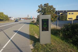 Ny kamerateknologi tæller både fodgængere og cyklister