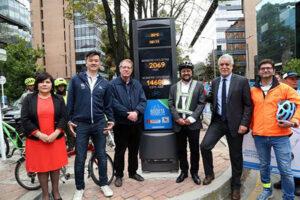 ITS Teknik står bag Colombias første cykelbarometer
