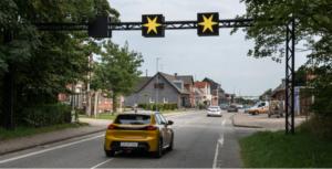 Stjerner, bananer og jyske replikker skal forbedre trafiksikkerheden